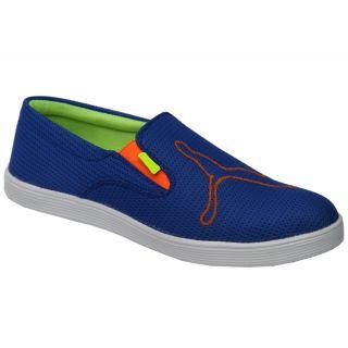 Trendigo MenS Light Blue Slip-On Casual Shoes