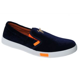 Trendigo MenS Blue Slip On Casual Shoes - 93761964
