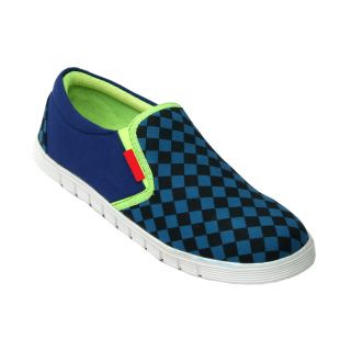 Trendigo MenS Blue Slip On Casual Shoes - 93762038