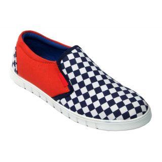 Trendigo MenS Blue Slip On Casual Shoes