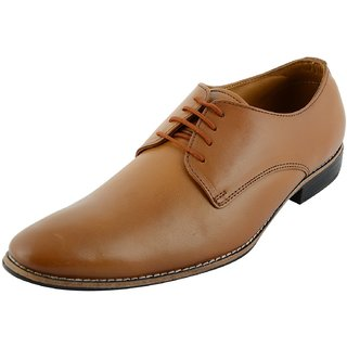SlipON Mens Leather Derby Shoes