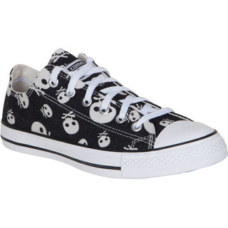Converse MenS Black Lace Up Sneakers - 93934042