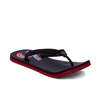 Puma Wave II Dp Black Red Flip Flops - 93935347