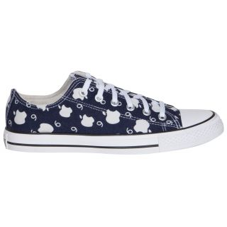 Converse MenS Blue Lace Up Sneakers