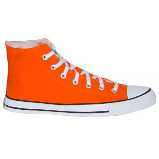 Converse MenS Orange Lace Up Sneakers