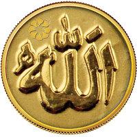 140mg Allah Gold Coin By Parshwa Padmavati Gold - 94216344