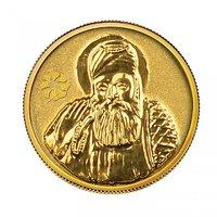 140mg Gurunanak Gold Coin By Parshwa Padmavati Gold - 94216875