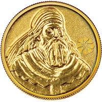 140mg Jartush Baba Gold Coin By Parshwa Padmavati Gold