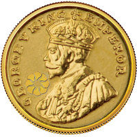 140mg King Gold Coin By Parshwa Padmavati Gold