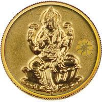 140mg Laxmi Gold Coin By Parshwa Padmavati Gold - 94217309