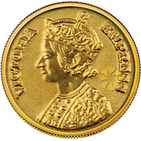 140mg Queen Gold Coin By Parshwa Padmavati Gold - 94217576