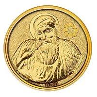 250mg Guru Nanak Gold Coin By Parshwa Padmavati Gold