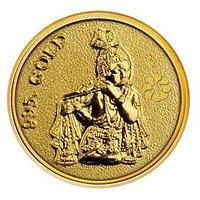 250mg Krishna Gold Coin By Parshwa Padmavati Gold Gold