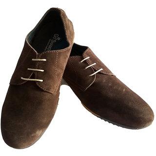 GoShamoy Dark TAN Pair Of Casual Shoes - 94223442