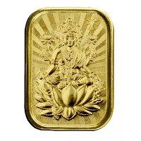 450mg Laxmi Gold Coin By Parshwa Padmavati Gold