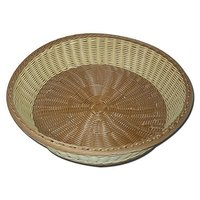 Poly Woven Fruit Basket - Bread Basket - 17 Inch X 4 Inch Big Size