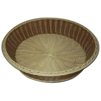 Poly Woven Roti Ki Tokri - Fruit Basket - Bread Basket - 15inch X 3.5Inch Big Size