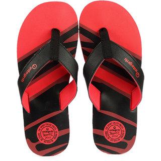Integriti MenS Red,Black Flip Flops
