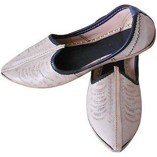 Skylyf Jodhpuri Leather Ethnic Mojari Mozari Jutti Juti Jooti Footwear