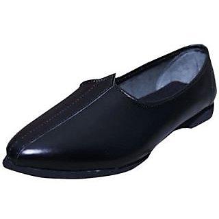 Skylyf Black Desi Casual Ethnic Mojari Mozari Jutti Juti Jooti Footwear