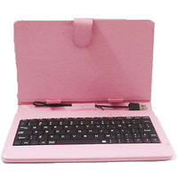 Callmate Keybord Leather Case/Cover For All 7 Inches Tablets With Free Screen Guard - 2900228