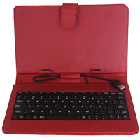 Callmate Keybord Leather Case/Cover For All 7 Inches Tablets With Free Screen Guard - 2900220