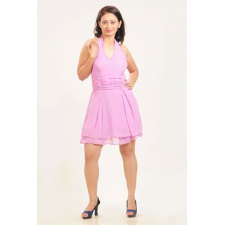 A Guster Ve..C3G011A Halter Neck Dress
