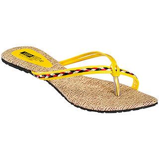 Yepme Women's Yellow Stylish Sandals