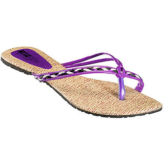 Yepme Women's Purple Stylish Design Sandals