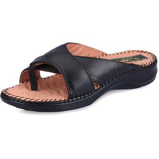 G-One Women 8 Black Sandals