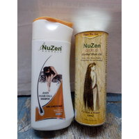 Nuzen Gold Herbal Hair Oil 100ml  Nuzen Herbal Anti Hiar Fall Shampoo 200ml