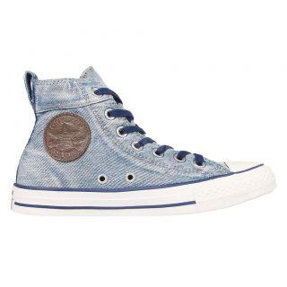 Converse MenS Chuck Taylor All Star Collar Break Blue Sneaker Shoe