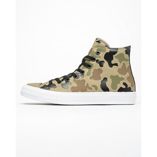 Converse MenS Chuck Taylor All Star High Top Brown Sneaker Shoe