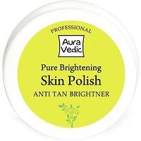 Auravedic Professional Pure Brightening Skin Polish With Amla Tamarind Scrub         (50 G)