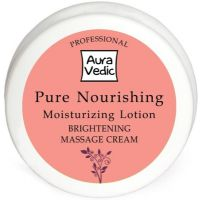 Auravedic Professional Pure Nourishing Moisturizing Lotion With Almong Grapeseed         (50 G)