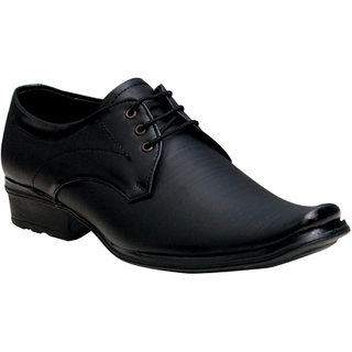 Oora MenS Black With Fine Lining Design Lace Up Formal - 9