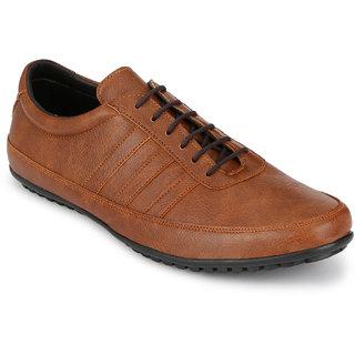 Afrojack MenS Tan Venetian Sneakers