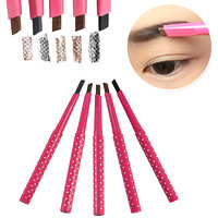 Waterproof Black Eyebrow Pencil Eye Brow Liner Pen Powder Shaper Makeup
