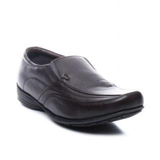 Lee Cooper Mens 9235 Brown Formal Shoes