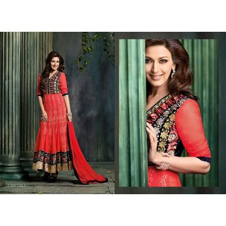 SONALI SUPER HIT SEMI STITCHED ANNARKALI 5016a