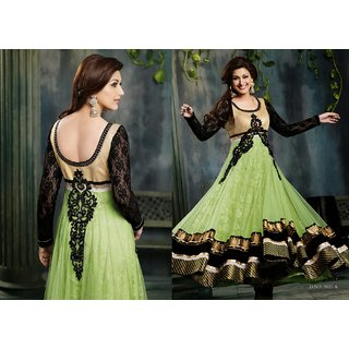 SONALI SUPER HIT SEMI STITCHED ANNARKALI 5023a