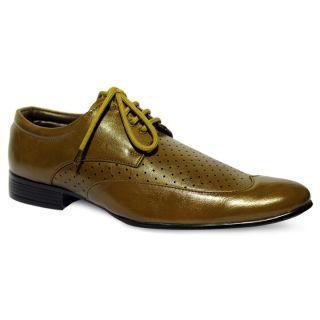 Roxxii In Fashion Brown Men Formal Shoes