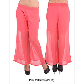 Fbbic Women Pink Palazzos