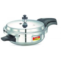 Prestige Deluxe Plus Aluminium Pressure Cooker Jr. Pan With Lid