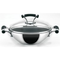 Prestige Circulon SS Elite Kadai 220mm With Lid