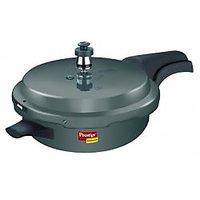 Prestige Deluxe Plus Hard Anodized Pressure Cooker Sr. Pr. Pan-Wal