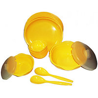 18 Pcs. Dinner Set By Ultimate,  Specifications: - Safe For Microwave,