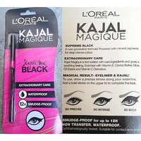GENUINE L'Oreal Kajal Magique 12 HOURS Smudge Free Trendy Women Eye Wear Care