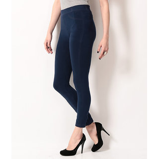 TSG BREEZE TREAT SEAMLESS JEGGINGS-103-NAVY COLOUR