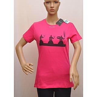 T Shirt Womens Splash Pink Colour Size M SKU  UCTSL007
